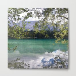 When Nature Sings Her Lullaby Metal Print