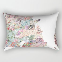 Copenhagen map Rectangular Pillow