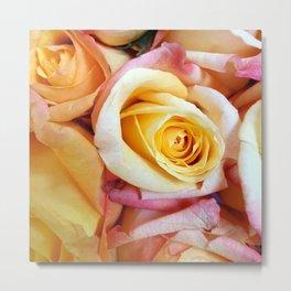 Yellow Roses 2 Metal Print