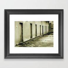 Choose your destiny Framed Art Print