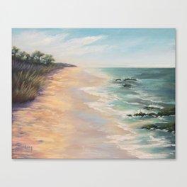 At high tide Canvas Print