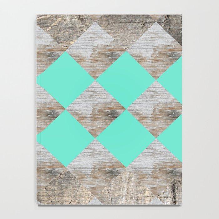 GeometricWood Notebook