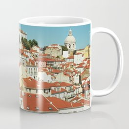 Lisbon view, Portugal Analog 6x6 Kodal Ektar 100 (RR 166) Coffee Mug