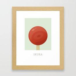 Ikura Flavored Creamsicle Framed Art Print