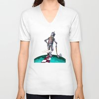 kansas V-neck T-shirts featuring We're not in Kansas anymore by Timone