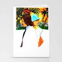 hollywood Stationery Cards featuring Hollywood by Ecsentrik