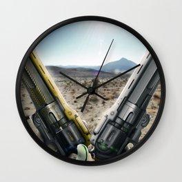 Myelin Last Word / First Curse Wall Clock