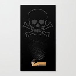 Smoking Kills CIgarette Canvas Print