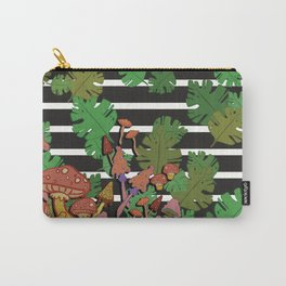 mushroom floral Carry-All Pouch