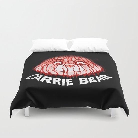 Carrie Bear Duvet Cover