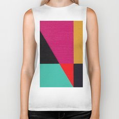 Red Triangle Biker Tank