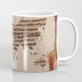 music world map Coffee Mug