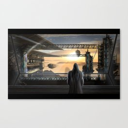Ship's Station Canvas Print