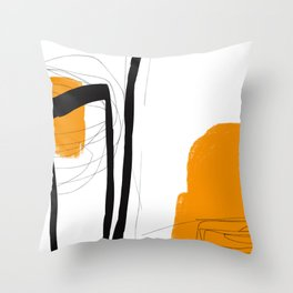 Blocks-Lounge Throw Pillow