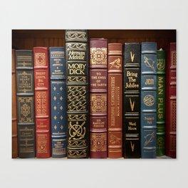 Bibliophile Canvas Print