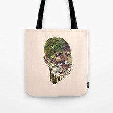 Earth Head Tote Bag