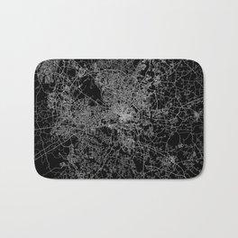 raleigh map north carolina Bath Mat