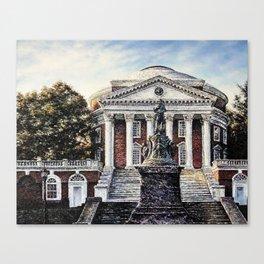 The Rotunda at Dawn Canvas Print