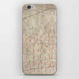 Stitch Landscape iPhone Skin