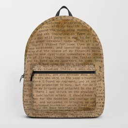 My Dear Watson Backpack