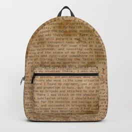 My Dear Watson Backpack