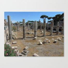 Ruderi romani Canvas Print