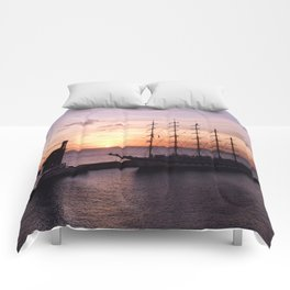 Clipper Sunset  Comforters