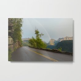 Going to the Rainbow Metal Print
