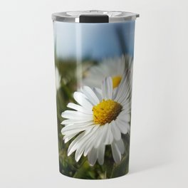 Close-up Daisy Travel Mug