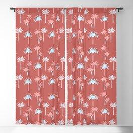 Palm Trees - Blue Desert Blackout Curtain