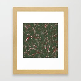 Candy Canes Galore! Framed Art Print