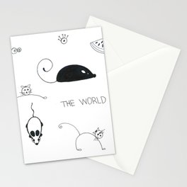 Mouses Stationery Cards