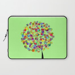 Tree of colors Laptop Sleeve