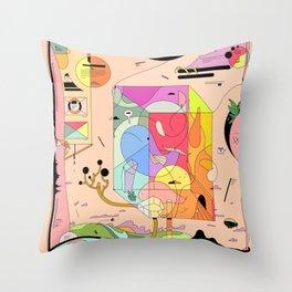 Pfpfpfpf Throw Pillow