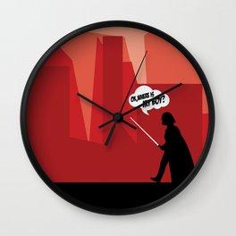 Darth Vader & His Son Wall Clock