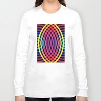waves Long Sleeve T-shirts featuring Waves by Gary Andrew Clarke