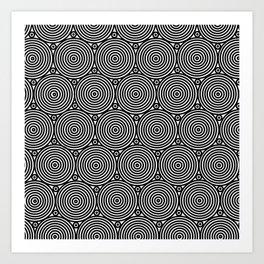 Op Art 8 Art Print