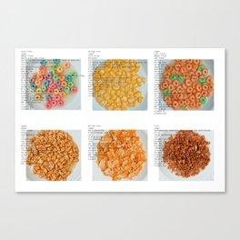 All American Ingredients - General Mills Canvas Print