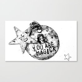 You Are Magick TM Canvas Print