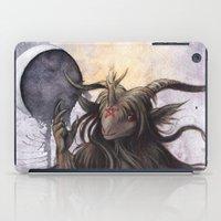 baphomet iPad Cases featuring Baphomet by Savannah Horrocks