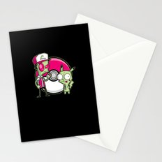 Po-GIR-mon Stationery Cards