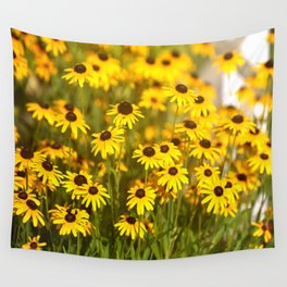 Black Eyed Susans  Wall Tapestry