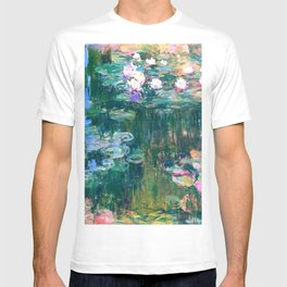 water lilies : Monet T-shirt