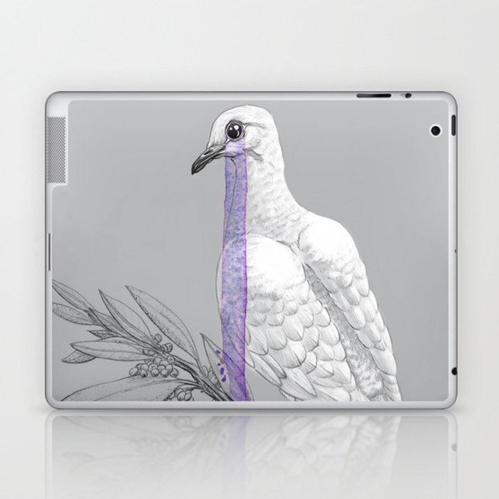 When Doves Cry Laptop & iPad Skin