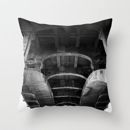 belly of the whale Throw Pillow
