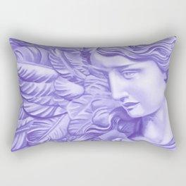 Violet angel Rectangular Pillow