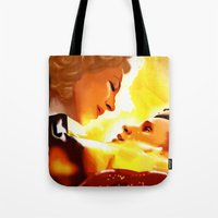 river song Tote Bags featuring Find River Song by Nero749