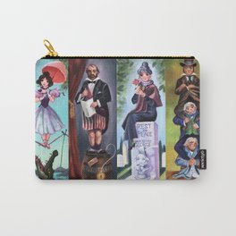 Disneyland Haunted Mansion Stretching Room Portraits Carry-All Pouch