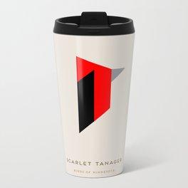 Scarlet Tanager Metal Travel Mug