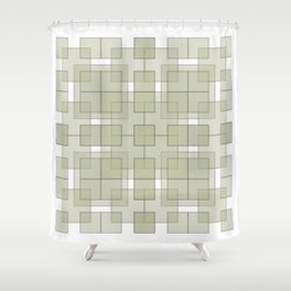 GEO 1D Shower Curtain